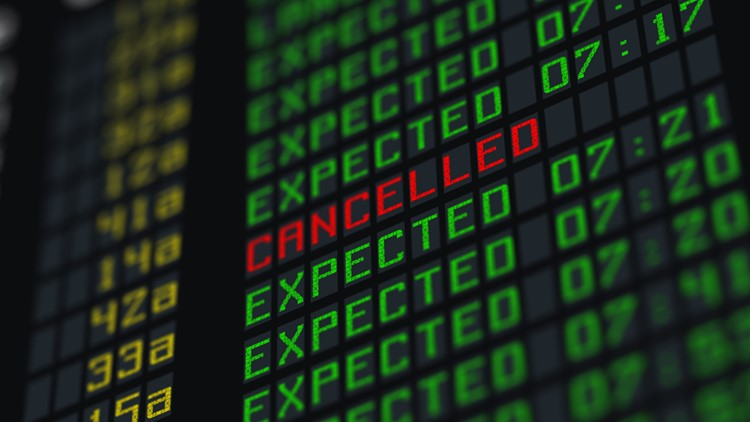 Can airlines cancel your flight suddenly without notice?