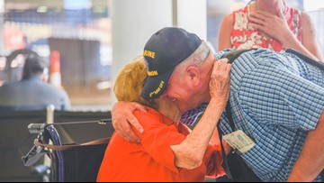 She searched for him. He looked for her. Now 67 years later, mother and son are together again.