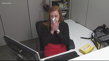 Carolinas remain in 'widespread' category for flu