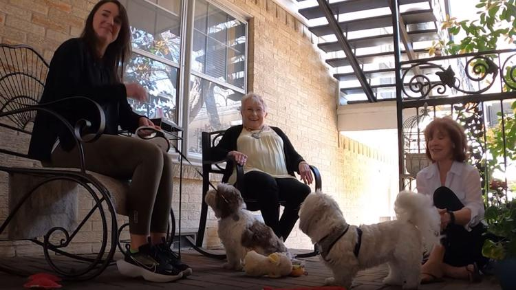 Simple request to pet a dog leads to an outpouring of support, new friends for 81-year-old Dallas woman