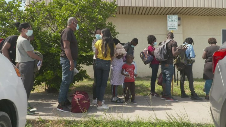 Norfolk woman discusses crisis on US-Mexico border, urges other Haitians to speak out