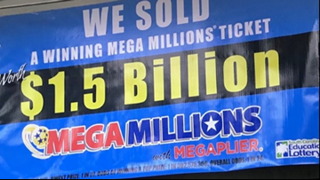 Mega Millions $1.5 billion jackpot still unclaimed