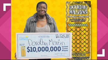 'Could this be real?' NC great-grandmother is extremely rich after $10M lottery win