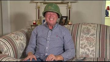 'It still fits!' | North Carolina veteran gets back long lost army helmet for Christmas