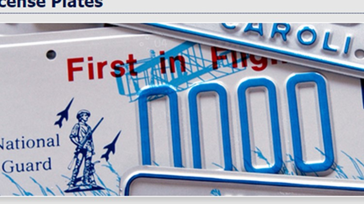 NC DMV suspends replacement of older license plates due to aluminum shortage