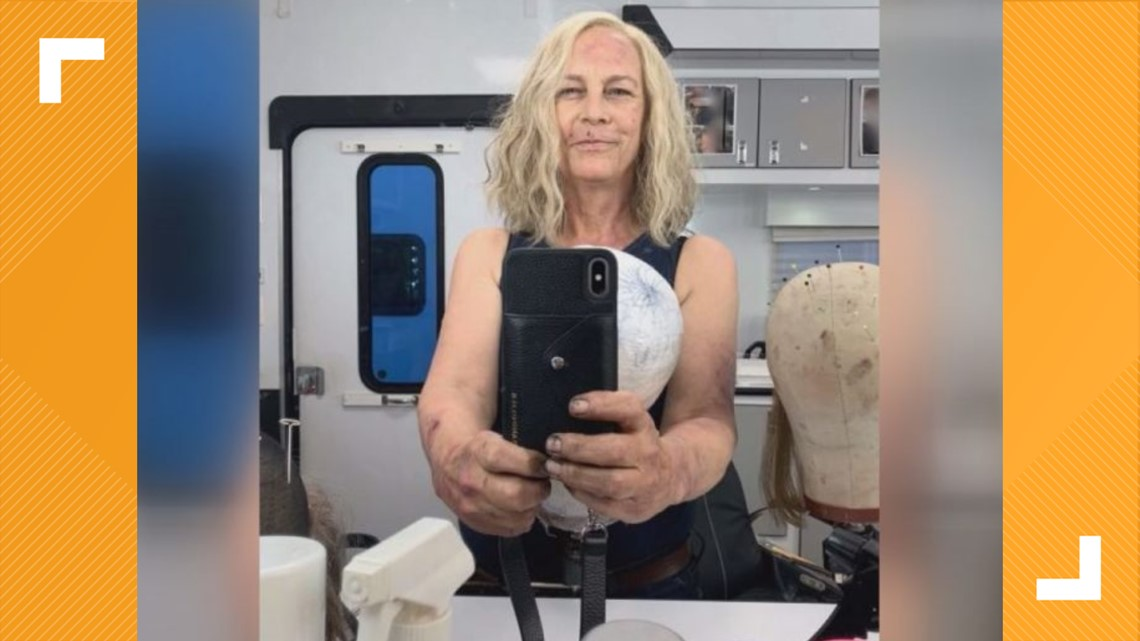 Wilmington Gas Prices >> Jamie Lee Curtis Arrives in Wilmington for 'Halloween Kills' | 13newsnow.com