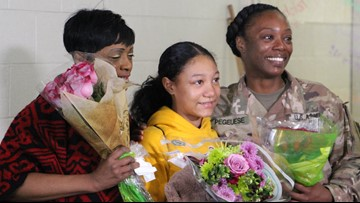 Grab the tissues! NC military mom surprises daughter at school