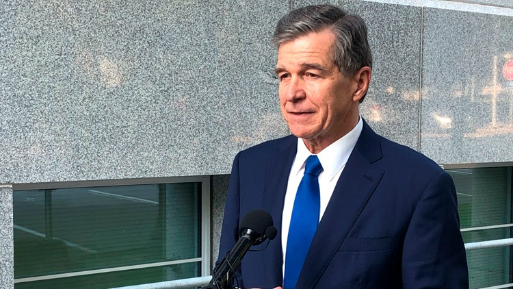 Gov. Cooper gives COVID-19 update as NC says 71% of adults at least partially vaccinated