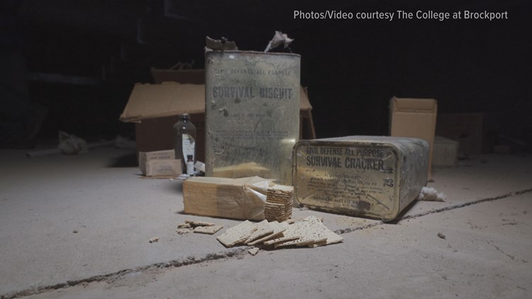 Unknown Stories of WNY: Cold War 'time capsule' discovered under college dorms