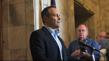 Kentucky incumbent Republican Gov. Matt Bevin not contesting Democrat Andy Beshear's win