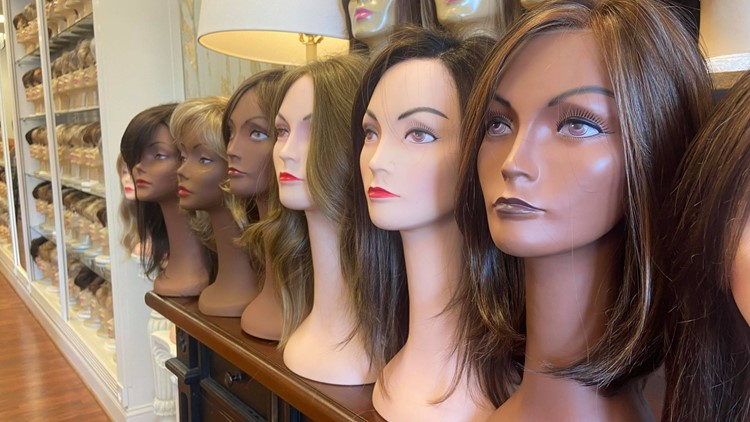 The Wig Shoppe in Kentucky honors cancer patients, survivors with October giveaways