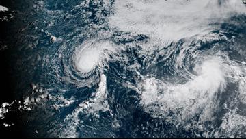 Weather Service monitoring 2 weakening Pacific hurricanes
