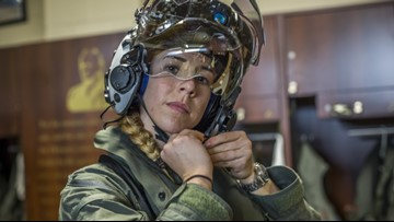 Marine becomes first female F-35B pilot