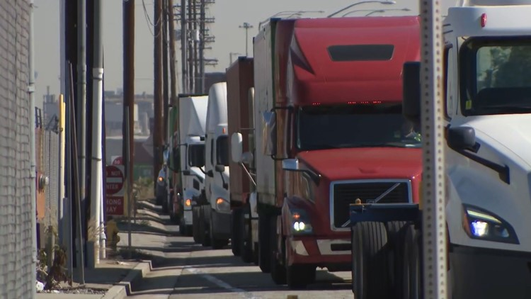 Truck driver shortage worsens supply chain crisis