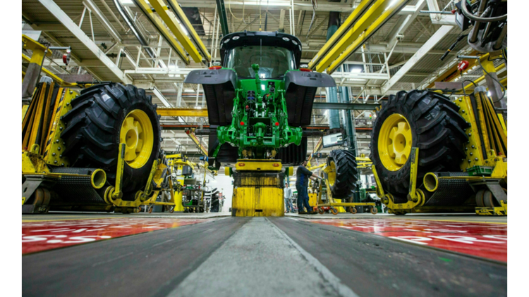 What's happening with the John Deere negotiations?