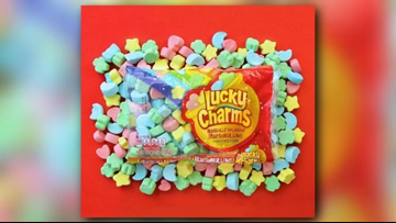 You can buy giant Lucky Charm marshmallows just in time for fall