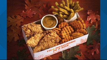 Fast-food chain Hardee's unveils new 'Thanksgiving in a Box'