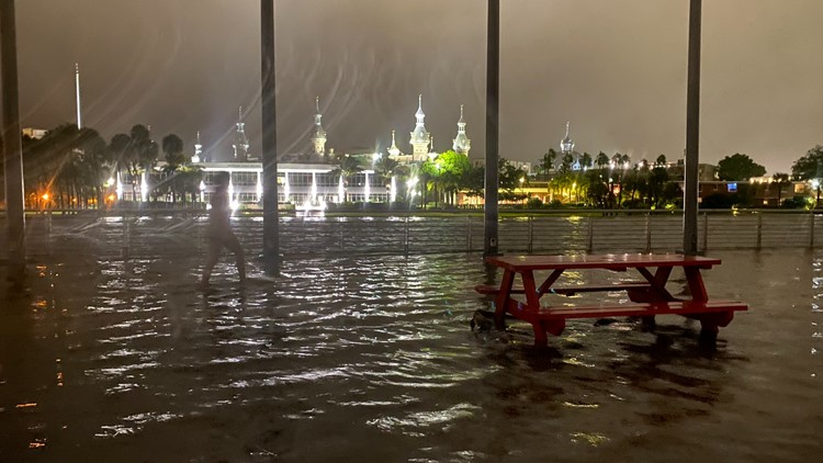 Tropical Storm Eta races off Carolinas after soaking Florida