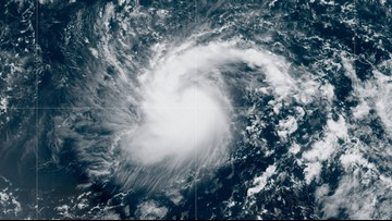 Tropical Storm Jerry becomes 10th named storm of the 2019 season