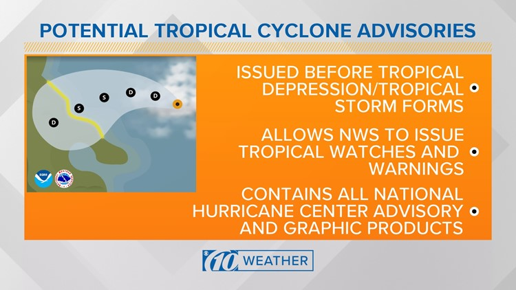 potential tropical cyclone graphic 8 30 18