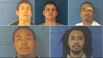 5 inmates break out of North Carolina jail, all but one have been caught