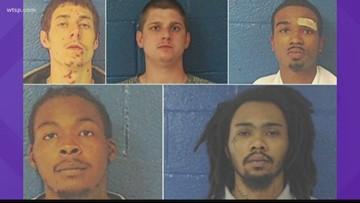 5 inmates escape N.C. jail, 4 taken into custody