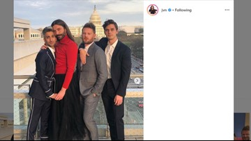 The 'Queer Eye' guys came to DC to lobby Congress to pass the Equality Act
