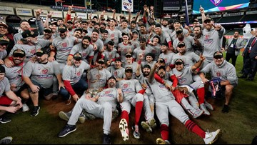 The Washington Nationals just won their first World Series