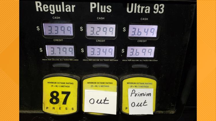 GasBuddy: 73% of DC gas stations are out of gas