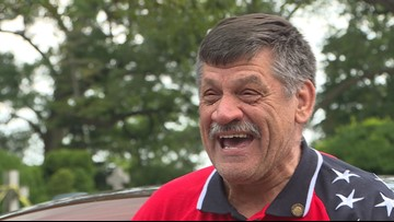 Vietnam vet celebrates life 50 years after losing leg in combat on Fourth of July