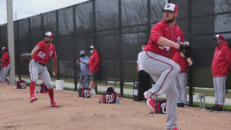 Nationals player tests positive for COVID-19 ahead of Opening Day at Nats Park