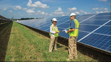 Dominion Energy wants to build Northern Virginia's largest solar facility at Dulles Airport