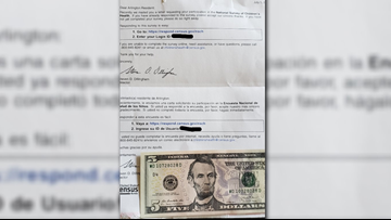 VERIFY: Is this $5-filled survey from the U.S. Census Bureau legit?