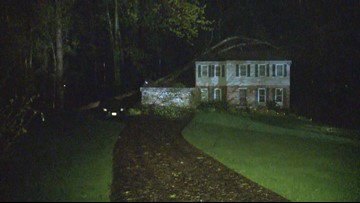 House destroyed, trees down after tornado touches down in Reston, Va.
