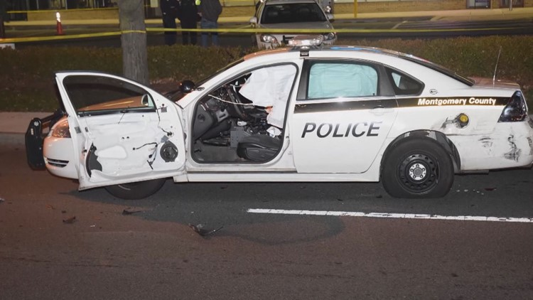 Officer Noah Leotta's patrol car