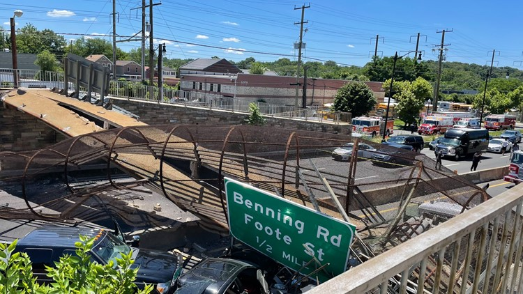 Everything we know so far about the Northeast DC pedestrian bridge collapse