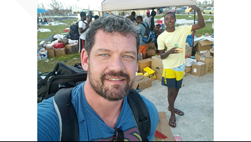 Virginia veteran works to make sure all donations reach those in need in Bahamas, unlike in Puerto Rico