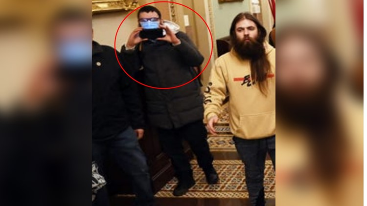 Capitol rioter who filmed mob chasing Officer Goodman pleads guilty