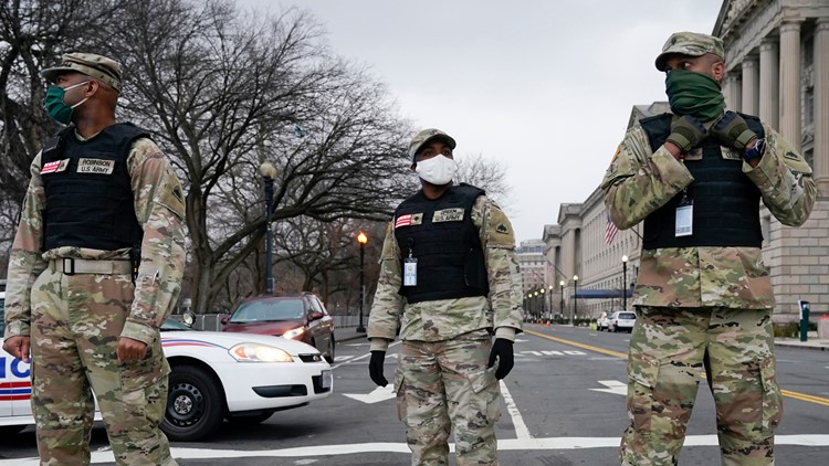 National Guard troops deployed to DC to quell riots after initial request for help was denied