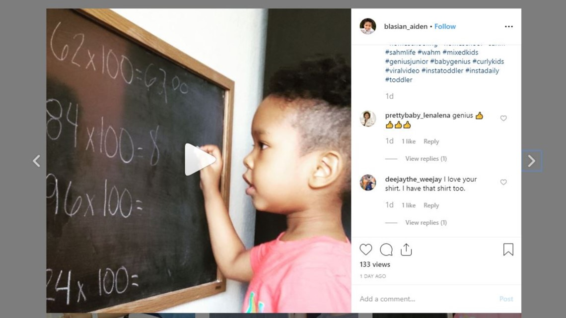 This 3-year-old whiz kid might be better at math than you are