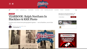 Website that broke Northam story is backed by GOP operatives, has long history of spreading conspiracy theories