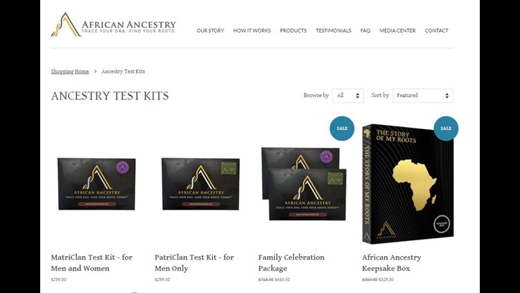 African Ancestry DNA Kits