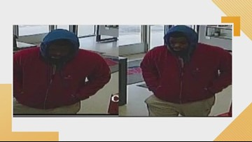 Hampton police search for robbery suspect