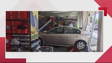 Car crashes into Suffolk storefront