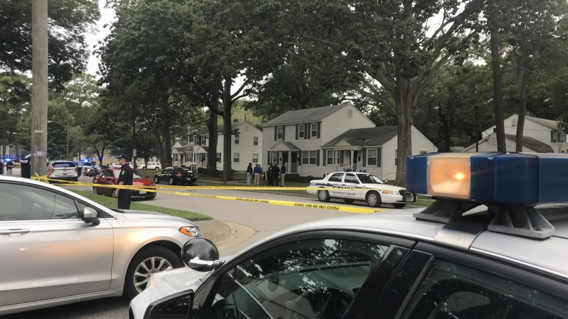 Three shot, including police officer, in Newport News
