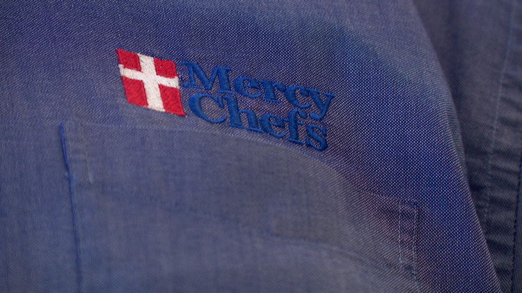 Mercy Chefs return after serving meals to Hurricane Ida victims