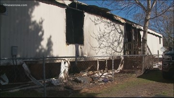 Chesapeake family putting pieces back together after trailer fire