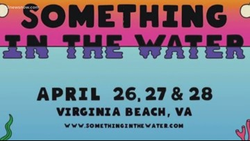 Something in the Water lineup schedule takes shape