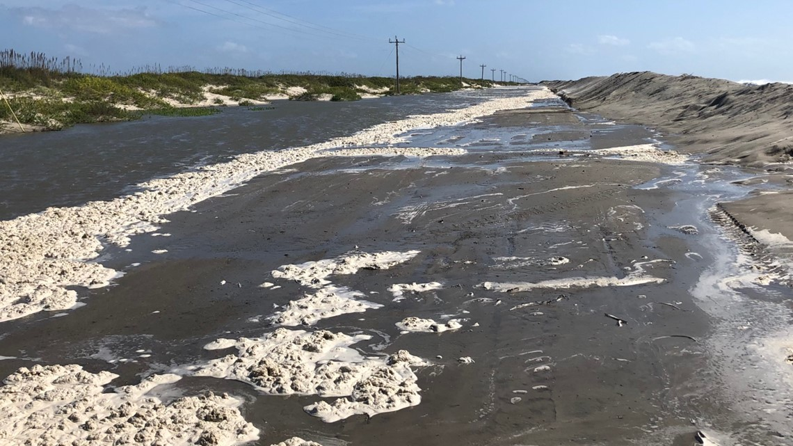 North Carolina highway NC-12 reopens after sand, water cleared