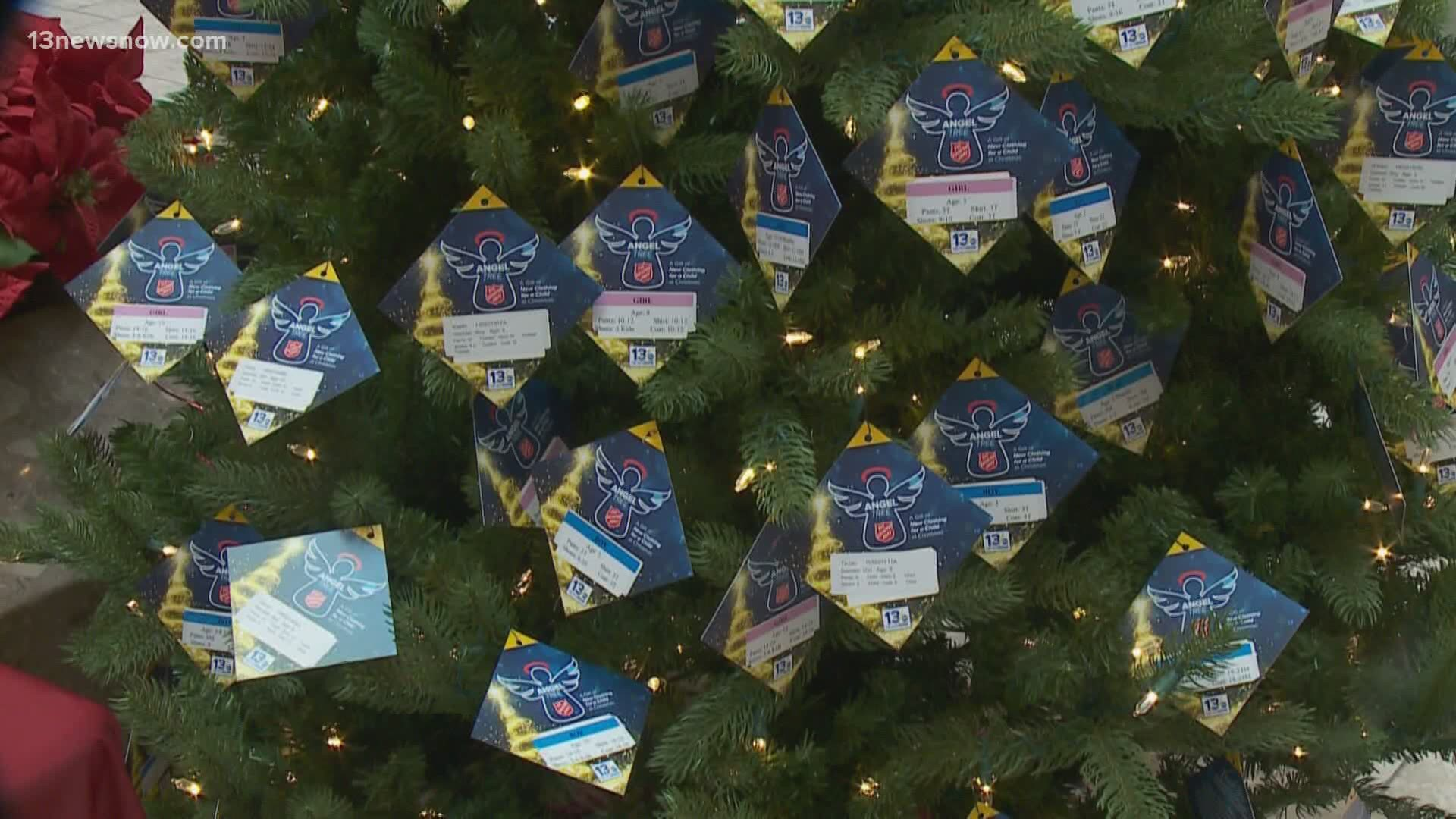 Hampton Roads Christmas Events 2020 Salvation Army Angel Tree Hampton Roads 2020 | 13newsnow.com